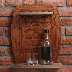 Полка под алкоголь 100% Alcohol, 40 × 48.3 × 15 см Ош