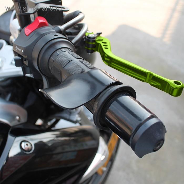 Мотоциклетная рукоятка дроссельной заслонки, черный