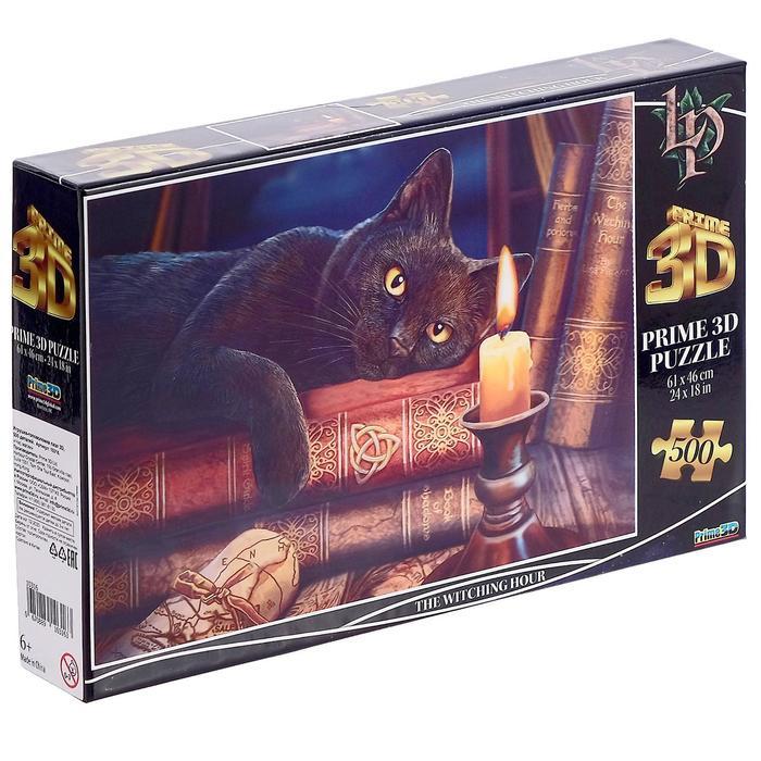 3D Пазл 500 элементов «Час магии»