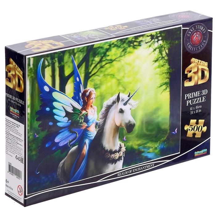 3D Пазл 500 элементов «Царство очарования»