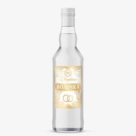 Наклейка на бутылку «Свадебная водочка», 8 × 12 см Ош