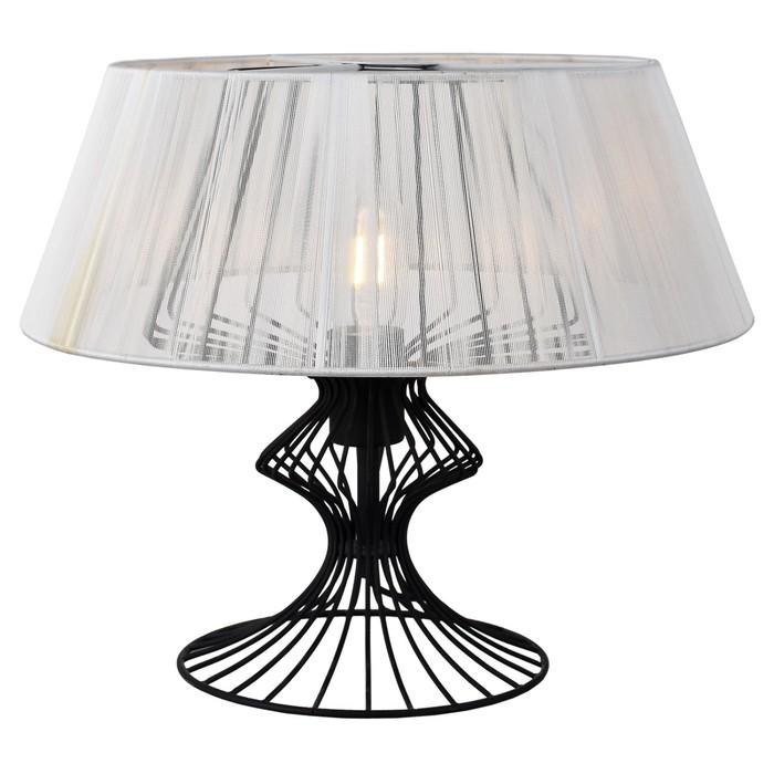 Настольная лампа CAMERON 1x40Вт E27 чёрный