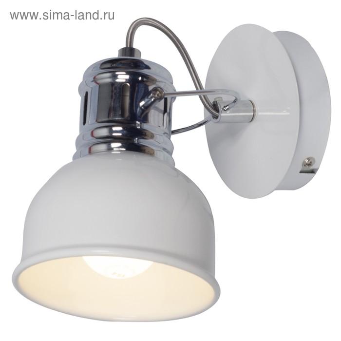 Светильник CARRIZO 1x40Вт E14 белый, хром
