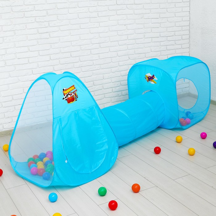 """Игровой набор - детская палатка с шариками """"Чемпион"""""""