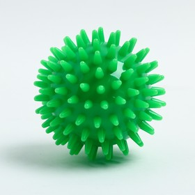 Мяч массажный d = 7 см., цвет зеленый Ош