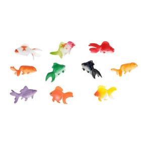 Набор фигурок рыбок «Аквариум», 10шт, МИКС