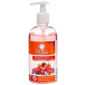 """Жидкое мыло для рук Unic """"Ягодное"""", 500 мл"""