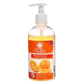 """Жидкое мыло для рук Unic """"Сочный апельсин"""", 500 мл"""