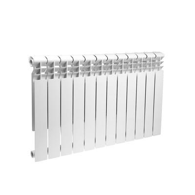 Радиатор алюминиевый Lammin ECO, 500х80 мм, 12 секций