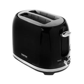 Тостер Centek СТ-1432 BLACK, 850 Вт, 7 режимов прожарки, черный Ош