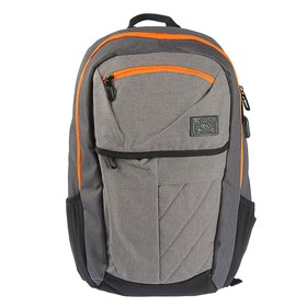 Рюкзак молодёжный Yes 46 х 33 х 15 см, эргономичная спинка, USB Thomas, серый/оранжевый