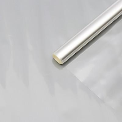 Пленка для цветов прозрачная 0,5 х 11 м, 200 г, 40 мкм