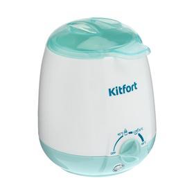 Подогреватель для бутылочек Kitfort КТ-2301, 100 Вт, 3 режима, 40/70/100 °С, белый Ош