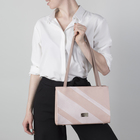 Сумка женская, отдел на молнии, наружный карман, цвет розовый
