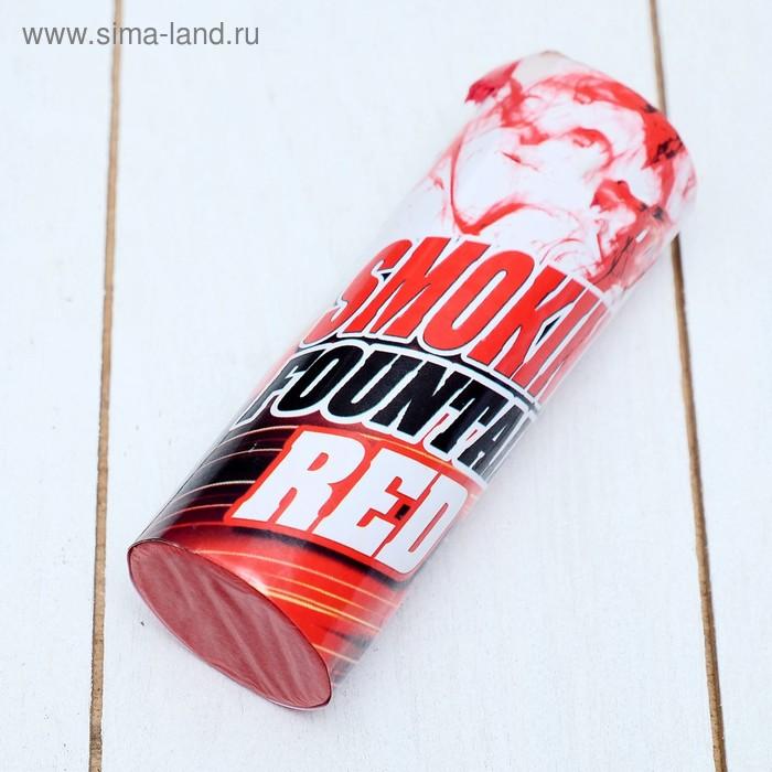 Цветной дым красный, заряд 1,75 дюйма, МАКСИ, очень высокая интенсивность, 30 сек, 11,5 см