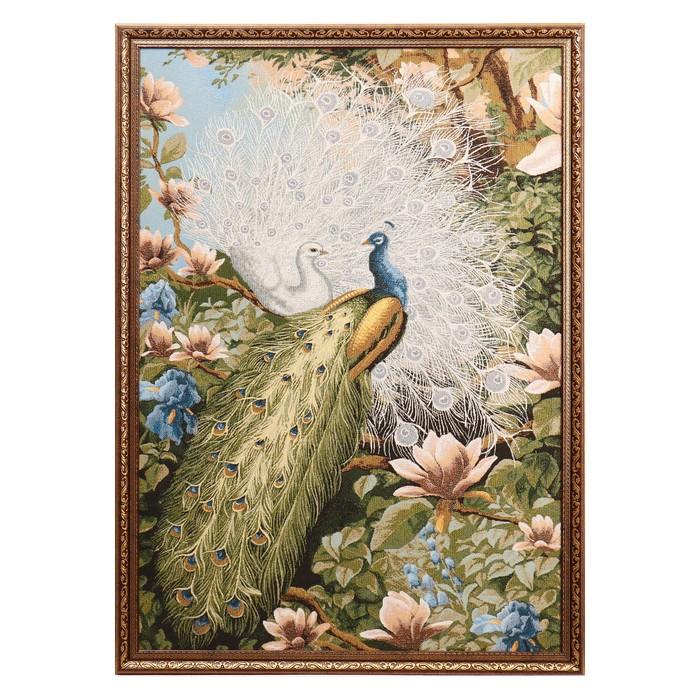 """Гобеленовая картина """"В райском саду"""" 75х110 см"""