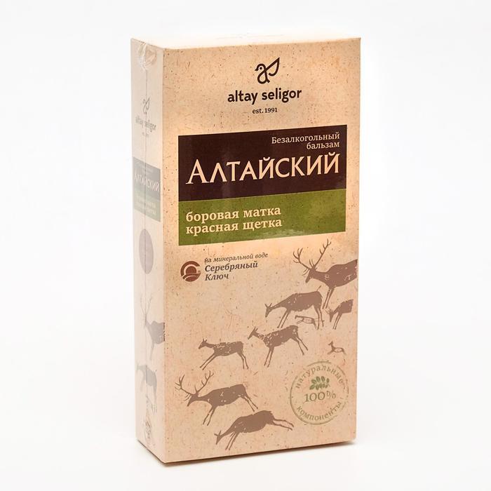 Бальзам Altay Seligor «Алтайский» с боровой маткой и красной щеткой, 250 мл.
