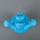 Крючок «Circus Hippo», 14,5 см, цвет голубой