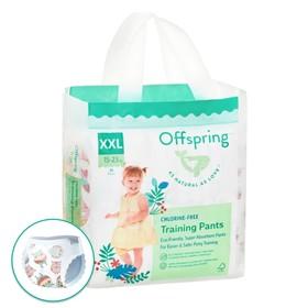 Трусики-подгузники Offspring, размер XXL (15-23 кг) расцветка Совы, 24 шт.