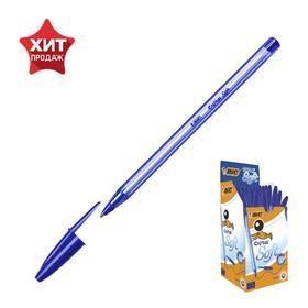 Ручка шариковая BIC Cristal Soft, узел 1.2 мм, чернила синие