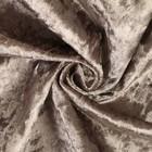 Плюш винтажный 50х50см, серый 100% п/э - Фото 4