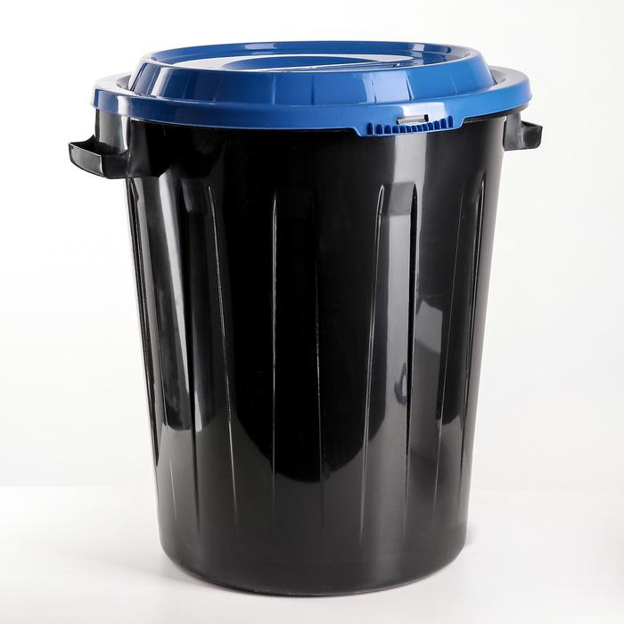 Бак, 60 л, цвет синий