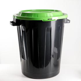 Бак 90 л, цвет ярко-зелёный Ош