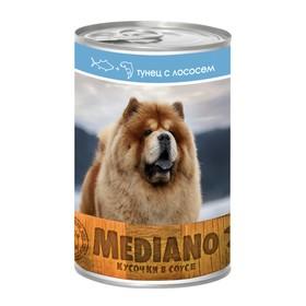Влажный корм VitaPRO MEDIANO для собак, тунец/лосось, ж/б, 405 г Ош