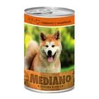 Влажный корм VitaPRO MEDIANO для собак, говядина/индейка, ж/б, 405 г