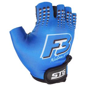 Перчатки велосипедные, размер M, цвет синий Ош