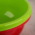 Миска-салатник, 5 л, цвет МИКС - Фото 7