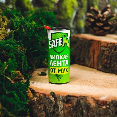 Липкая лента от мух SAFEX, 1 шт - Фото 1