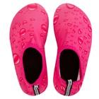 Аквашузы детские MINAKU «Капли» цвет розовый, размер 34-35 - Фото 2