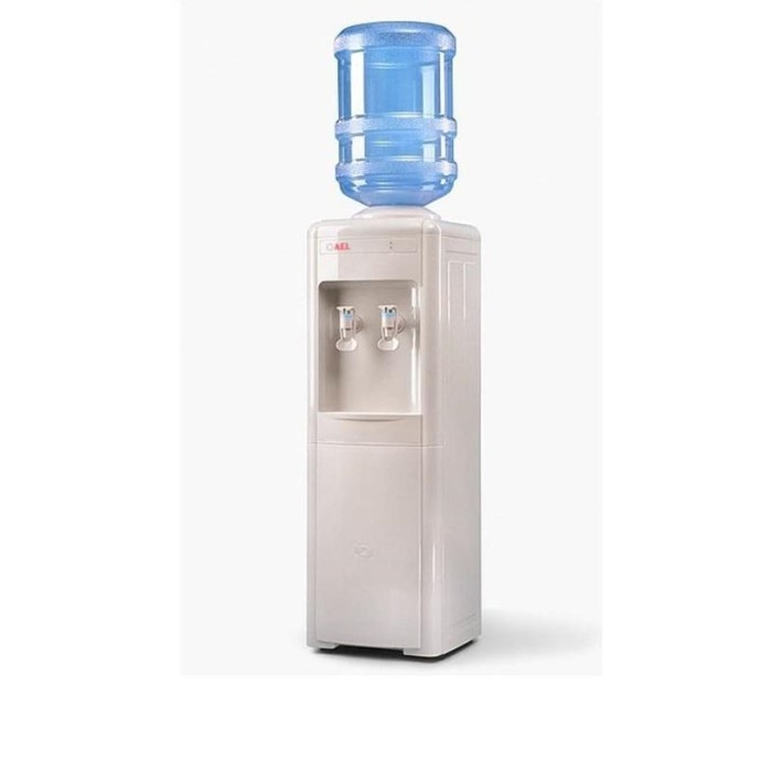 Кулер для воды AEL L-AEL-016, без нагрева и охлаждения, верхняя загрузка бутыли, белый