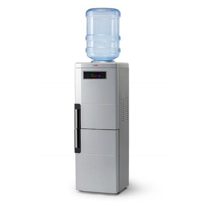 Кулер для воды AEL LC-AEL-188 BD, нагрев и охлаждение, 530/90 Вт, серебристый