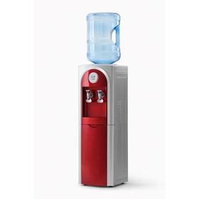 Кулер для воды AEL LD-AEL-123 C, нагрев и охлаждение, 500/68 Вт, красный