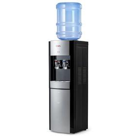 Кулер для воды AEL LD-AEL-28, нагрев и охлаждение, 550/75 Вт, чёрно-серебристый Ош