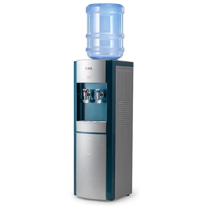 Кулер для воды AEL LD-AEL-28, нагрев и охлаждение, 550/75 Вт, цвет маренго