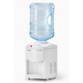 Кулер для воды AEL TC-AEL-390, настольный, компрессорный, нагрев 5 л/ч, охлажд. 2 л/ч, белый