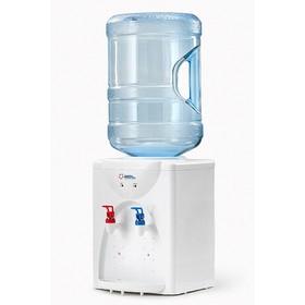 Кулер для воды AEL TD-AEL-112, настольный, нагрев 5 л/ч, охлаждение 0.8 л/ч, белый Ош