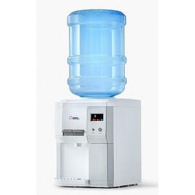 Кулер для воды AEL TD-AEL-183 A, настольный, нагрев и охлаждение, 500/75 Вт, дисплей, белый