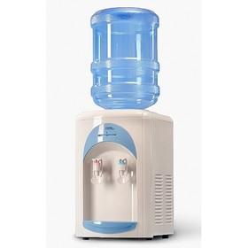 Кулер для воды AEL ТC-AEL-17, настольный, нагрев и охлаждение, 500/130 Вт, белый/голубой