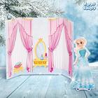 Магнитная кукла «Снежная леди»