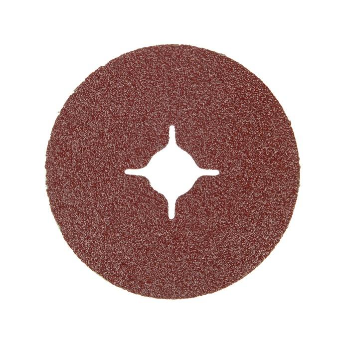 Круг фибровый Matrix 73903, Р60, 115х22 мм, ширина 0.5 мм, 5 шт.