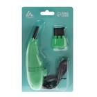 USB Пылесос LuazON MR-01, для ПК, с насадками, USB, зеленый - Фото 2
