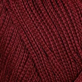 Пряжа-шнур 'Macrame Макраме' 100% полиэстер 130м/90гр (145 бордо) Ош