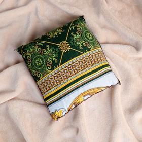 Подушка со стружкой можжевельника, сувенирная, 23×23 см, микс Ош