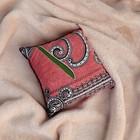 Подушка сувенирная, 15×15 см, можжевельник, микс