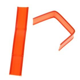 Клип-лента в нарезке, загнутая, оранжевый, 5 см Ош