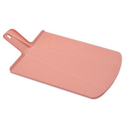 Доска разделочная Chop2Pot Plus большая, розовая